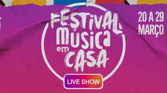 Festival Música em Casa traz shows online de mais de 40 nomes da música brasileira