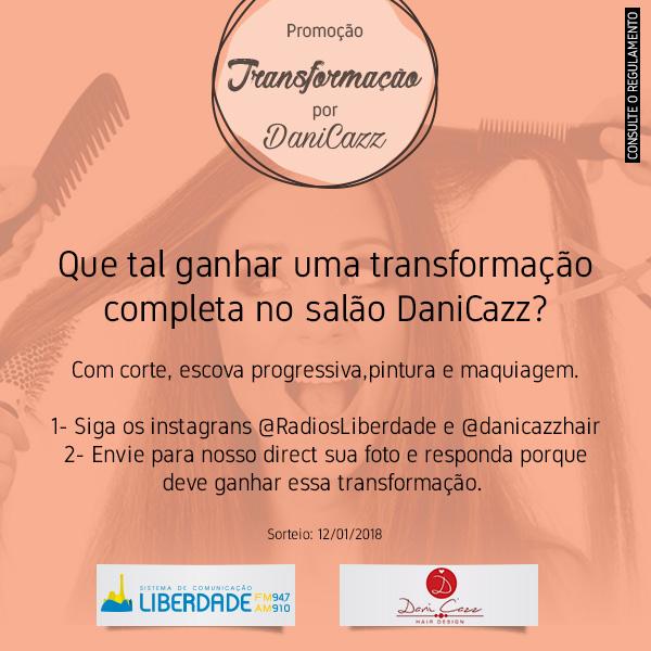 Transformação por Dani Cazz