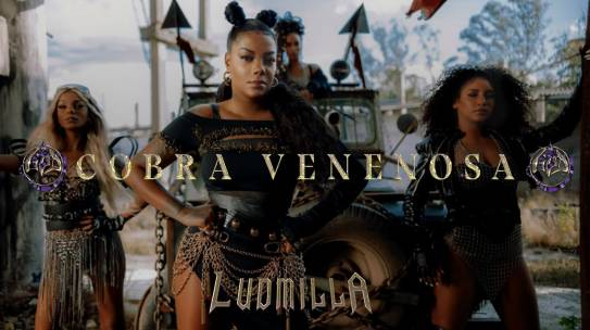 "Ludmilla lança single ""Cobra Venenosa"""