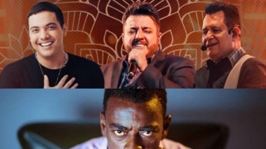 Lives do fim de semana: Wesley Safadão e Bruno & Marrone, Seu Jorge e Vanessa da Mata