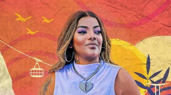 """Ludmilla retoma projeto de pagode e apresenta a música """"Ela Não"""""""