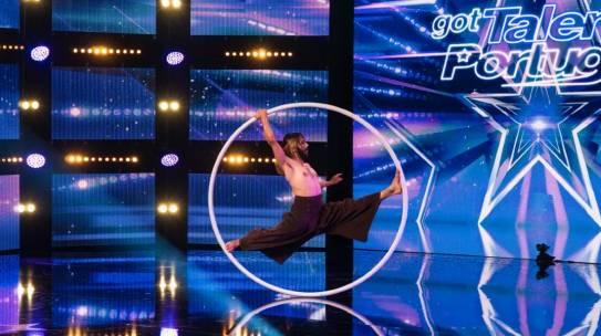 Artista circense pernambucano está entre os finalistas de competição de talentos de Portugal