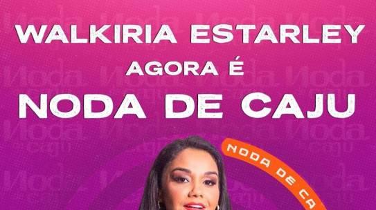 Banda Noda de Caju anuncia nova cantora