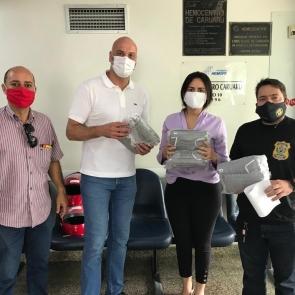 Penitenciária de Caruaru doa 800 EPIs ao Hemope