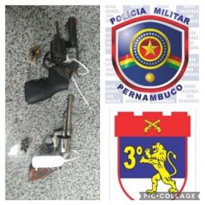 Polícia Militar liberta refém e prende criminosos em Arcoverde
